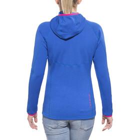 Elevenate Arpette Extensible, Capuche Femme, dynamic blue